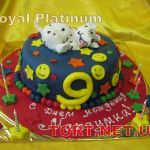 Торт 101 далматинец_10