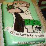 Торт Бен 10_2