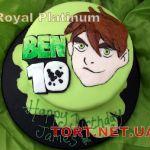 Торт Бен 10_4