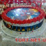 Торт Железный человек_2