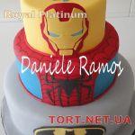 Торт Железный человек_4