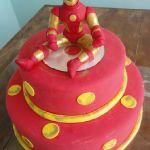 Торт Железный человек_9