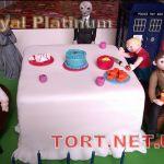 Торт Тардис (Доктор Кто)_10