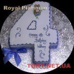 Торт Цифра Четыре_4