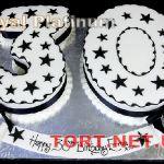 Торт Цифра Тридцать_4