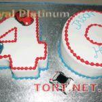 Торт Цифра Сорок_2