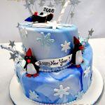 Торт Пингвин_15