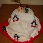 Торт Пингвин_16