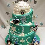 Торт Пингвин_17