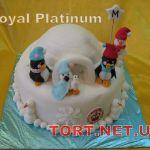 Торт Пингвин_20