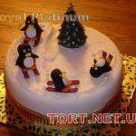 Торт Пингвин_23
