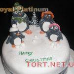 Торт Пингвин_24