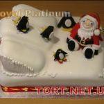 Торт Пингвин_2