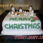 Торт Пингвин_4