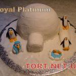 Торт Пингвин_6