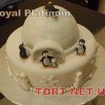 Торт Пингвин_9