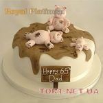 Торт Свинья_4