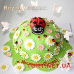 Торт Божья коровка_11