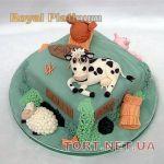 Торт Овца (Баран)_5