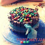 Торт M&M