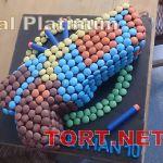 Торт M&M's стиль_14