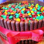 Торт M&M's стиль_4