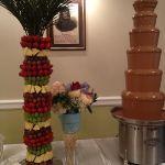 Шоколадный фонтан 125см_9